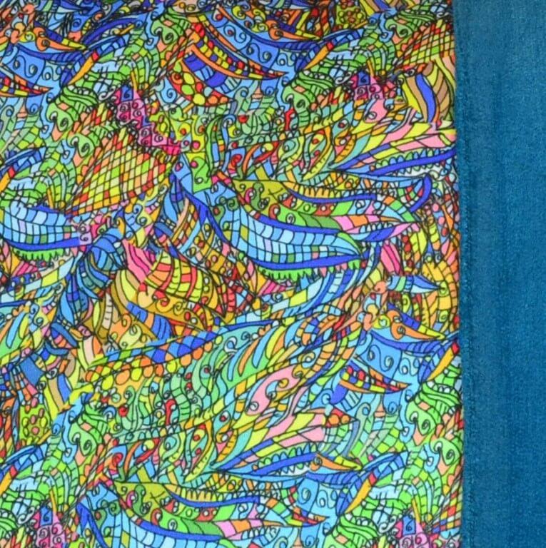 """Detail aus dem Kissen """"Jazz Pillow Art"""" von AN-NA Design"""
