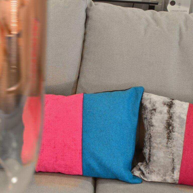 Dies ist die neue Produktlinie Limited Edition Kissen von AN-NA Design, einer kleinen Kissen-Manufaktur im Bergischen Land.