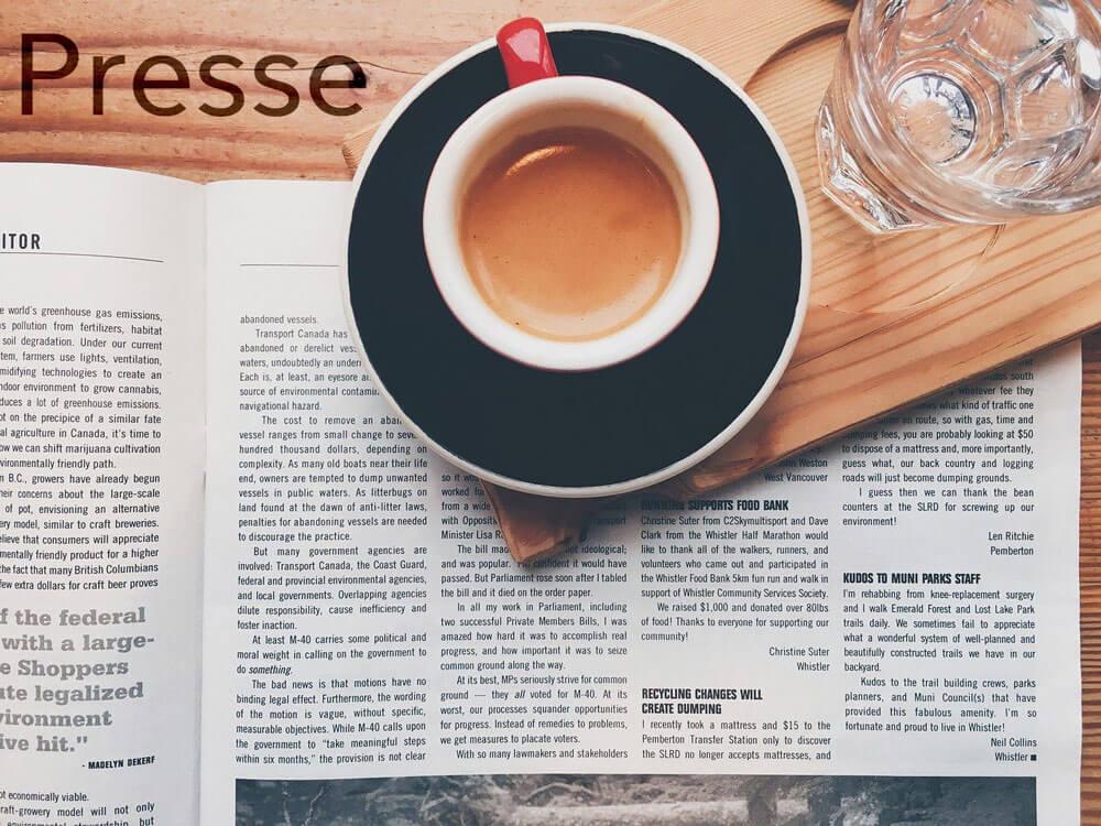 Artikel in der Zeitschrift Tina über AN-NA Design, Ausgabe 02/2020